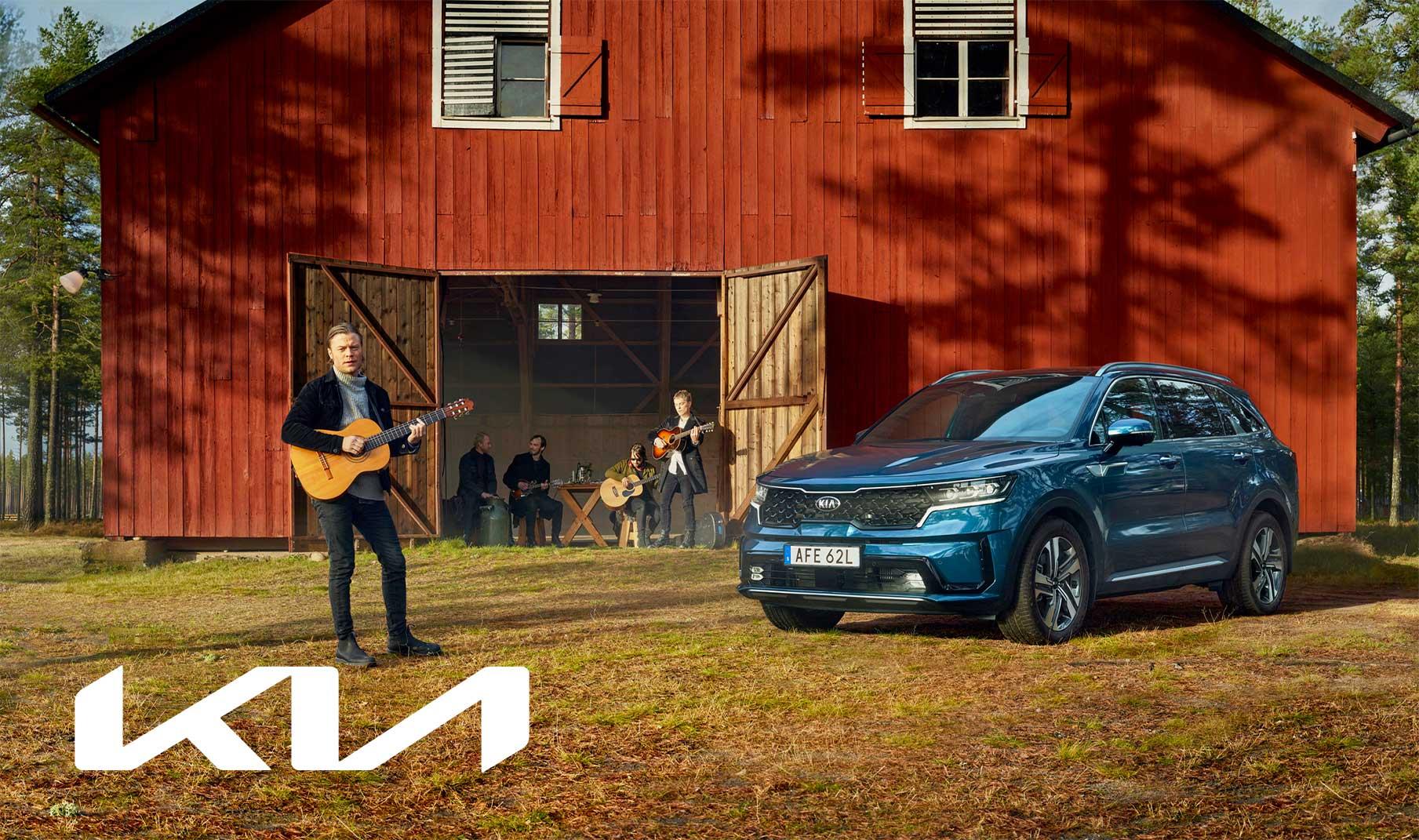 Helt nya Kia Sorento Plug-In Hybrid