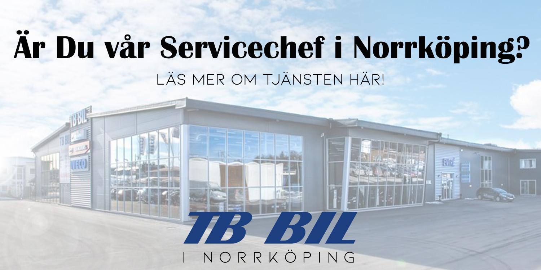 Servicechef till Norrköping